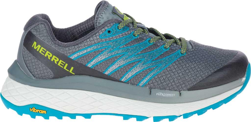 Women's Merrell Rubato Trail Running Sneaker, Monument Jacquard Fabric/TPU, large, image 2