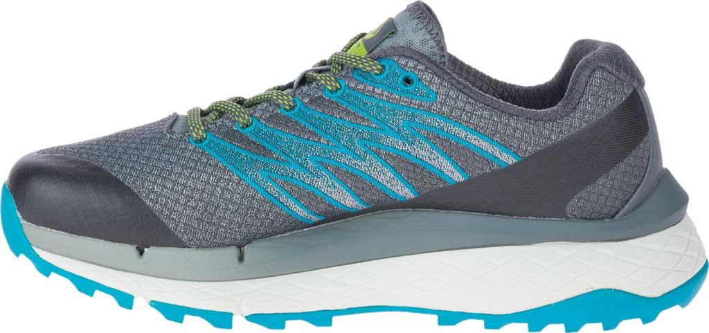 Women's Merrell Rubato Trail Running Sneaker, Monument Jacquard Fabric/TPU, large, image 3