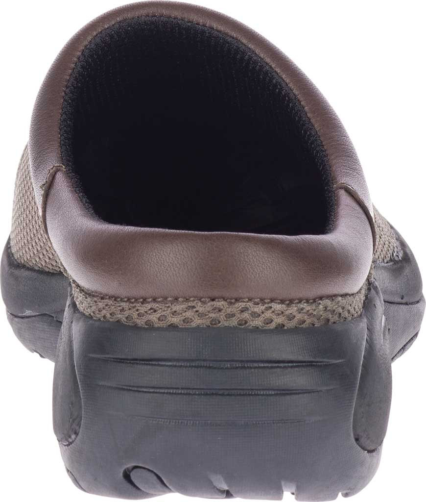 Men's Merrell Encore Bypass 2 Slip On, Gunsmoke Mesh/Leather, large, image 4