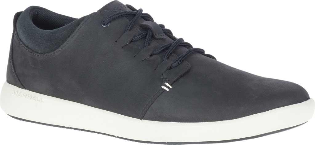 Men's Merrell Freewheel 2 Sneaker, Black Full Grain Leather, large, image 1
