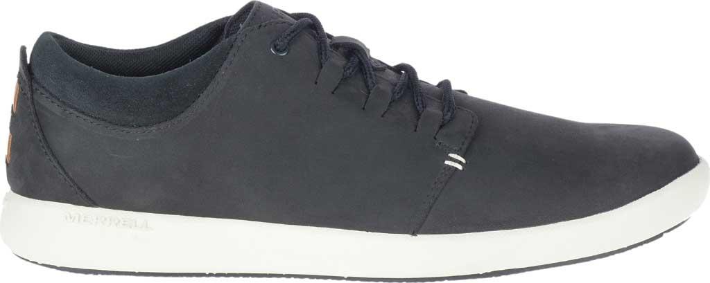 Men's Merrell Freewheel 2 Sneaker, Black Full Grain Leather, large, image 2