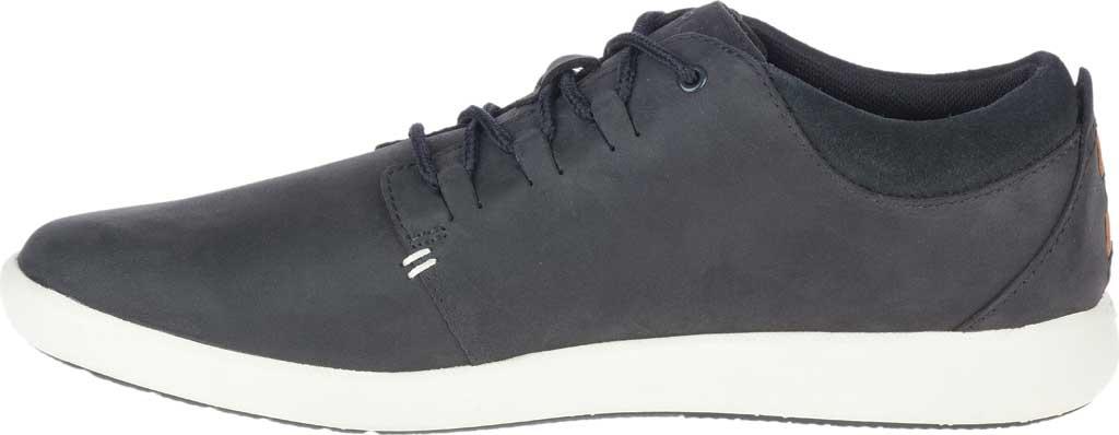 Men's Merrell Freewheel 2 Sneaker, Black Full Grain Leather, large, image 3