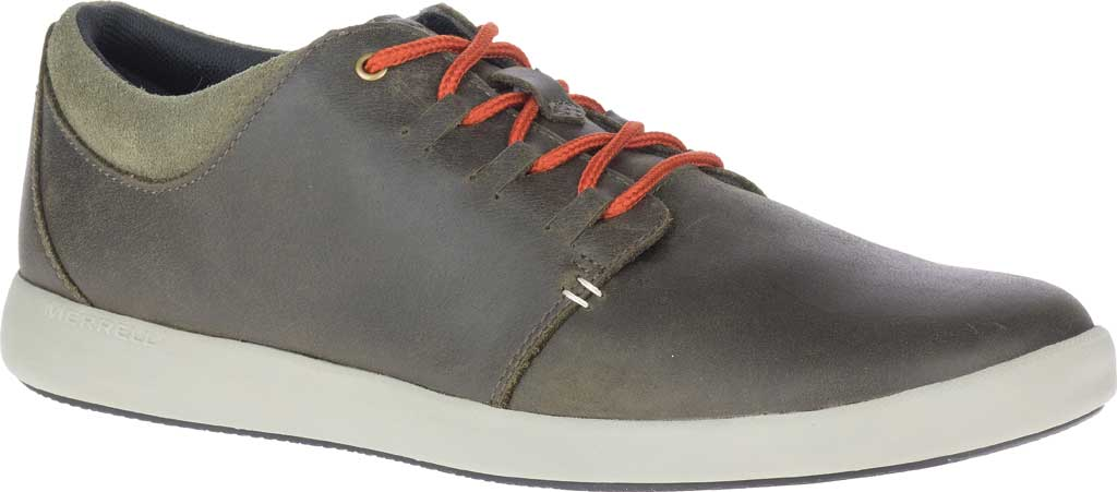 Men's Merrell Freewheel 2 Sneaker, Olive Full Grain Leather, large, image 1