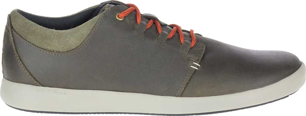 Men's Merrell Freewheel 2 Sneaker, Olive Full Grain Leather, large, image 2