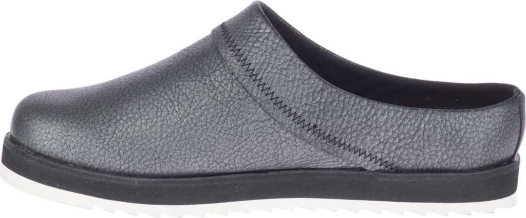 Women's Merrell Juno Leather Clog, Metallic Full Grain Leather, large, image 3