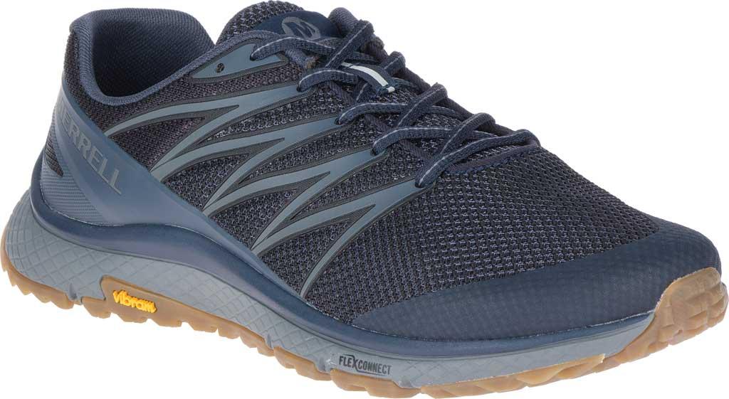 Men's Merrell Bare Access XTR Trail Running Sneaker, Navy Mesh/TPU, large, image 1
