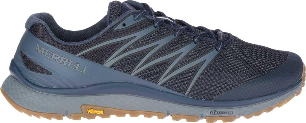 Men's Merrell Bare Access XTR Trail Running Sneaker, Navy Mesh/TPU, large, image 2
