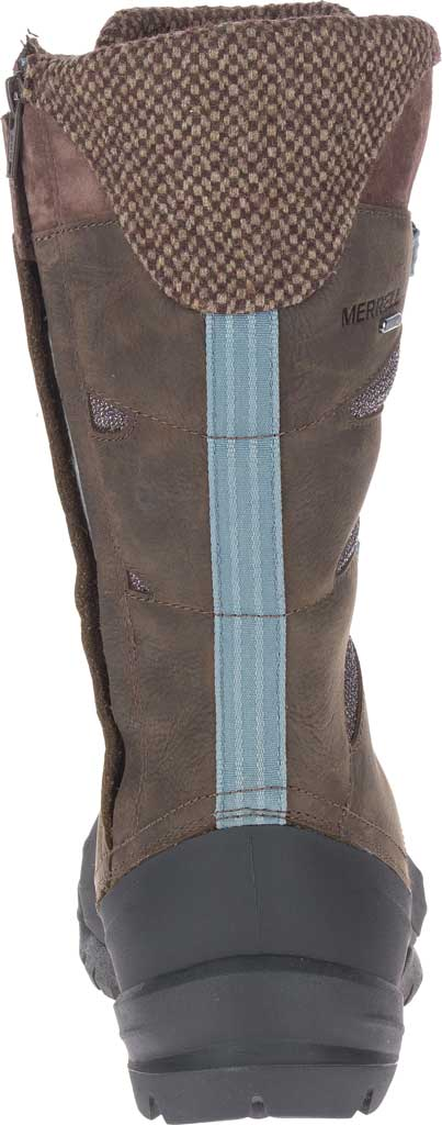 Women's Merrell Thermo Aurora 2 Tall Shell Waterproof Boot, Seal Brown Waterproof Full Grain Leather/Wool, large, image 4