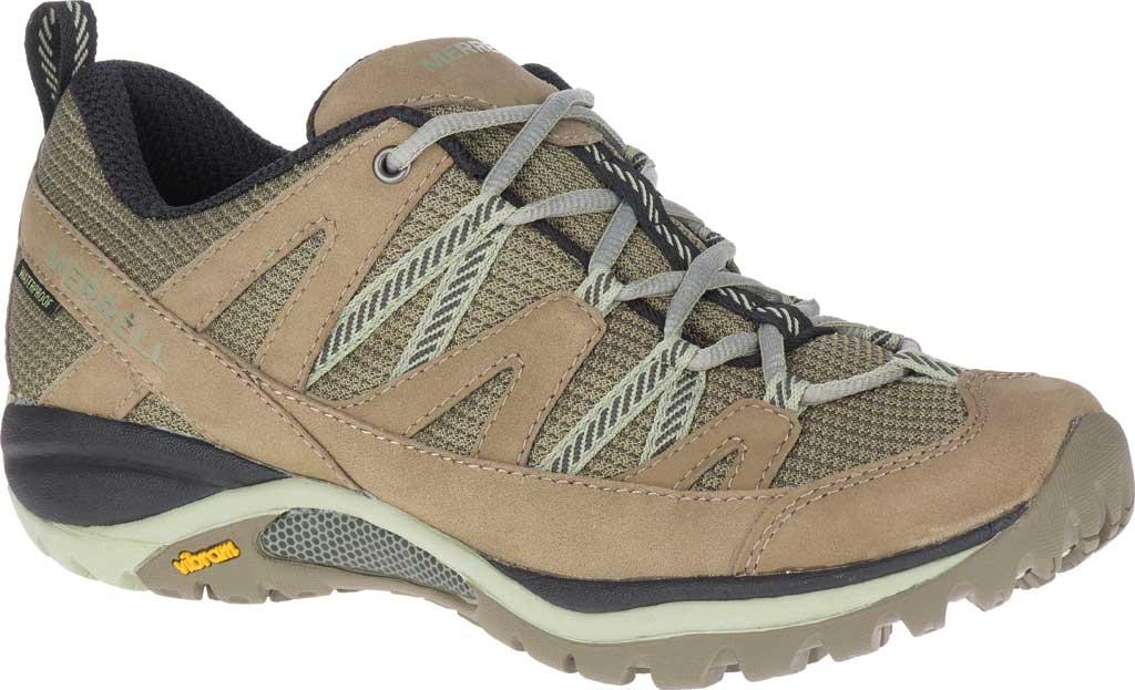Women's Merrell Siren Sport 3 Waterproof Tail Shoe, Brindle/Tea Waterproof Mesh/Leather, large, image 1