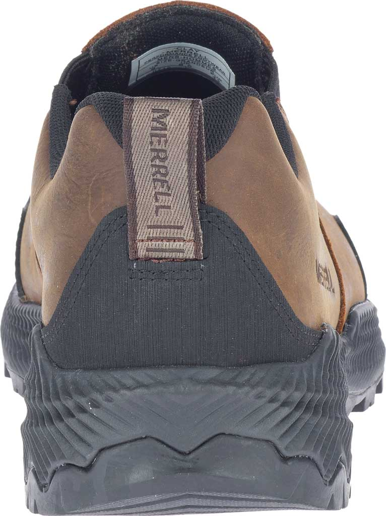 Men's Merrell Forestbound Moc Waterproof Slip On, Clay Polyurethane Coated Leather/Mesh, large, image 4