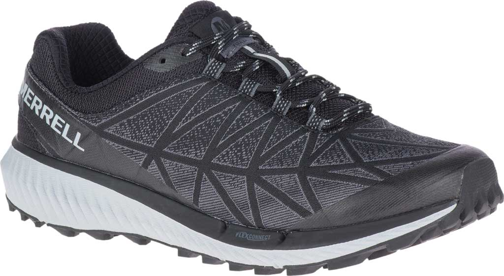 Women's Merrell Agility Synthesis 2 Trail Running Sneaker, Black Jacquard Fabric/TPU, large, image 1