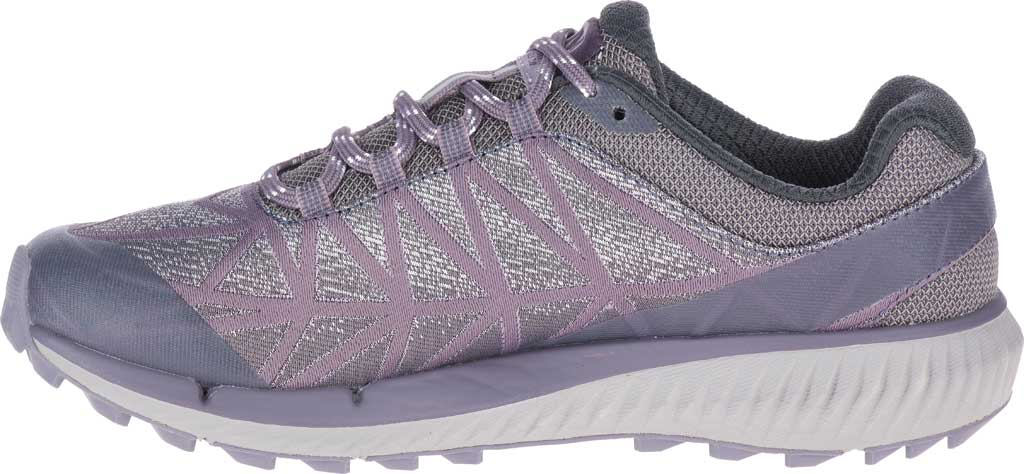 Women's Merrell Agility Synthesis 2 Trail Running Sneaker, Shark Jacquard Fabric/TPU, large, image 3