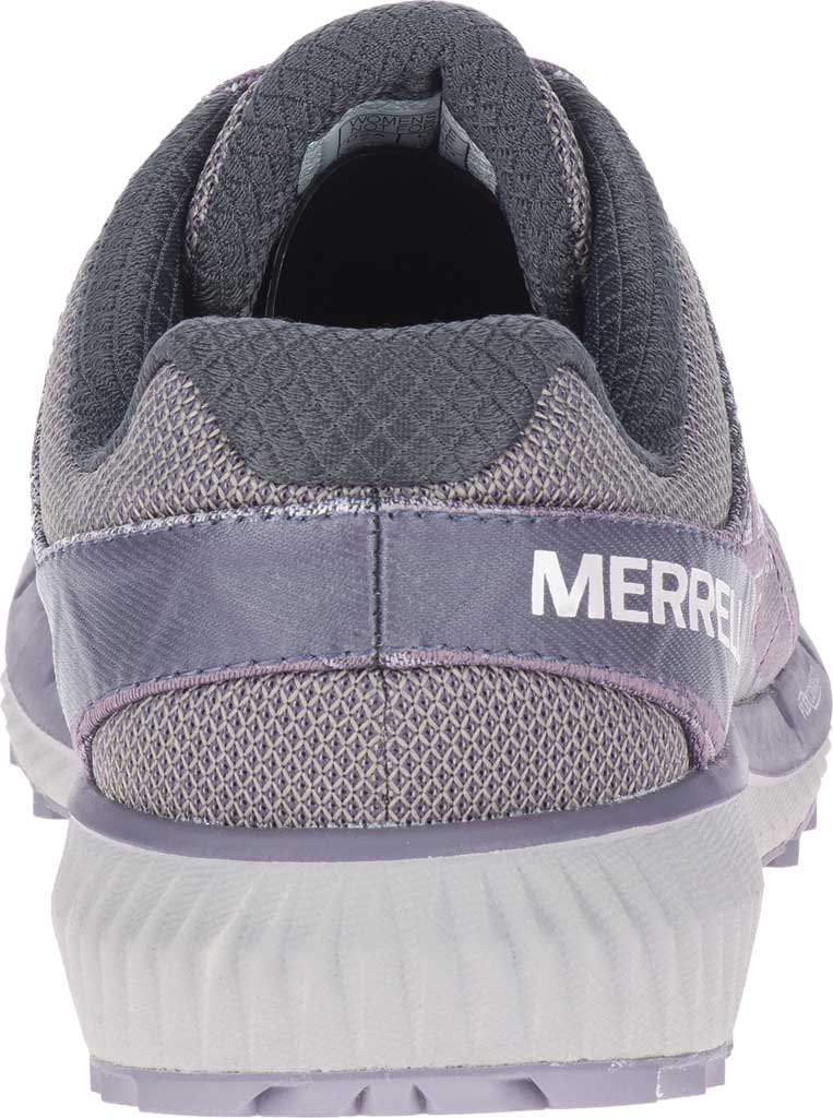 Women's Merrell Agility Synthesis 2 Trail Running Sneaker, Shark Jacquard Fabric/TPU, large, image 4