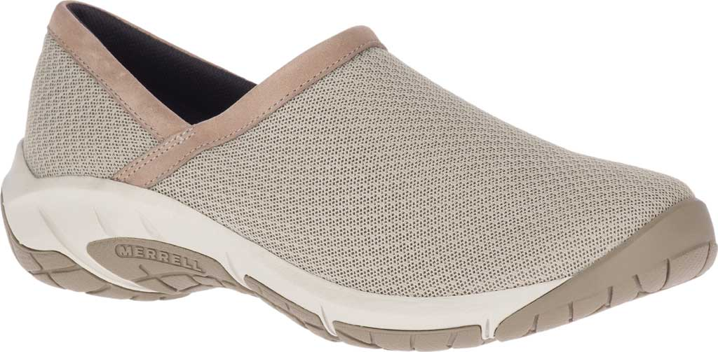 Women's Merrell Encore Breeze Moc Slip On, Aluminum Mesh/Leather, large, image 1