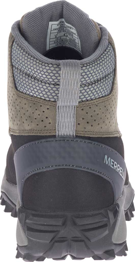 Men's Merrell Thermo Kiruna Mid Shell Waterproof Boot, Merrell Grey Waterproof Full Grain Leather, large, image 4