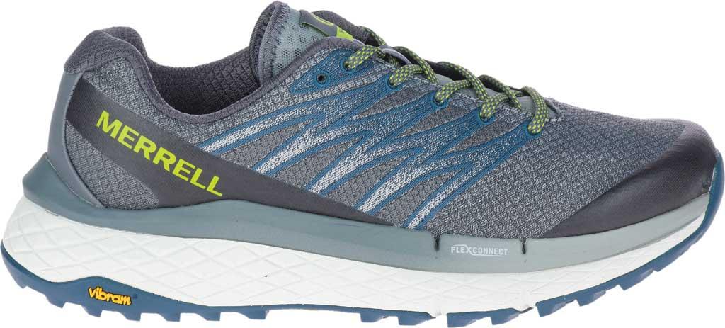Men's Merrell Rubato Trail Running Sneaker, Monument Jacquard Fabric/TPU, large, image 2