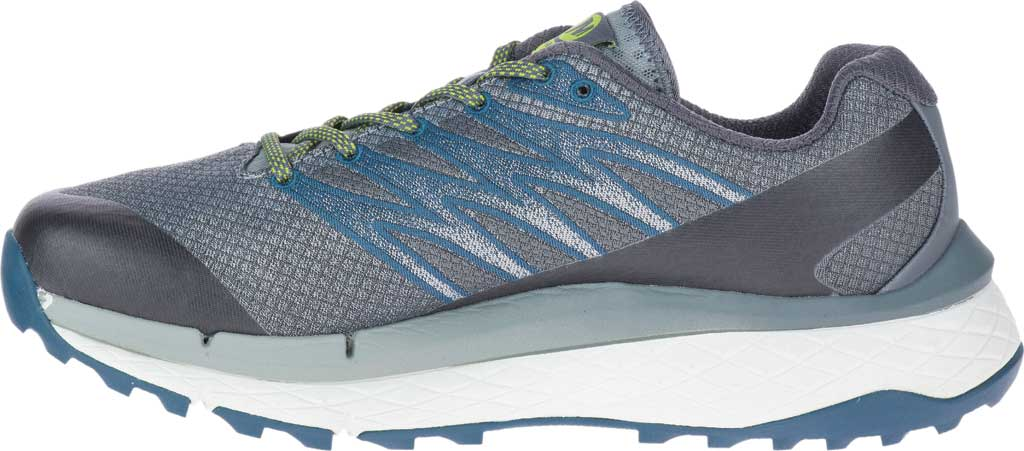 Men's Merrell Rubato Trail Running Sneaker, Monument Jacquard Fabric/TPU, large, image 3