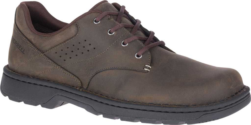 Men's Merrell World Legend 2 Oxford, Espresso Full Grain Leather, large, image 1