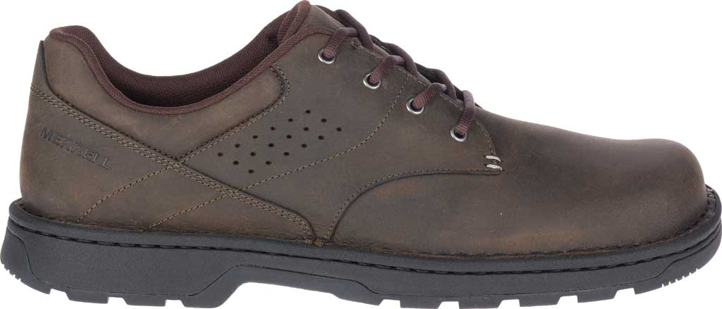 Men's Merrell World Legend 2 Oxford, Espresso Full Grain Leather, large, image 2