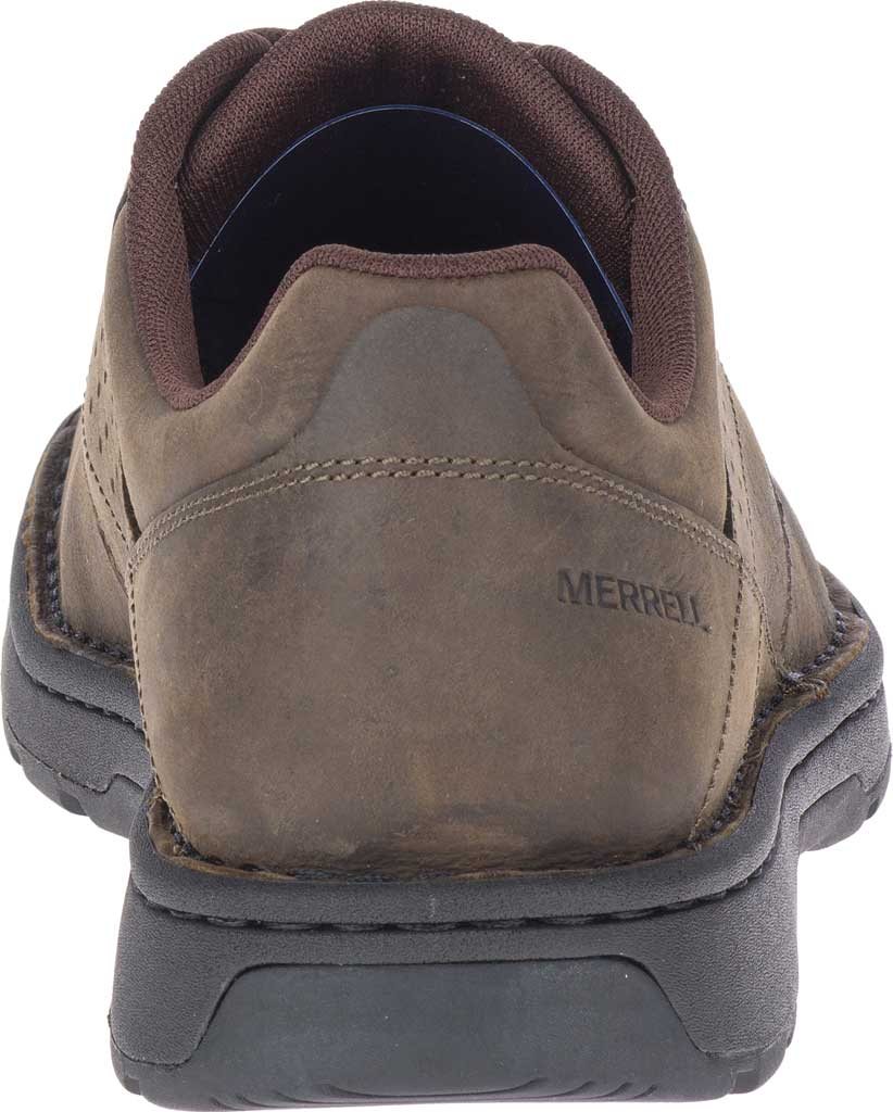 Men's Merrell World Legend 2 Oxford, Espresso Full Grain Leather, large, image 4