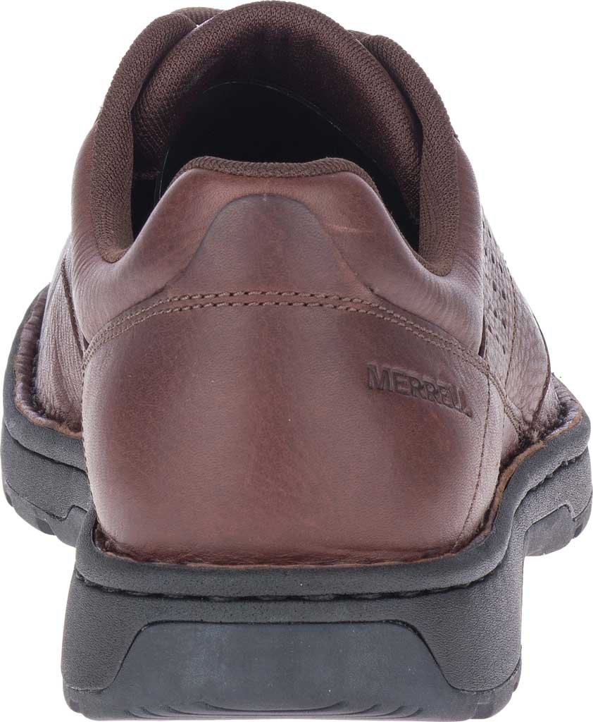 Men's Merrell World Legend 2 Oxford, Chocolate Polish Full Grain Leather, large, image 4