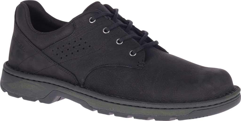 Men's Merrell World Legend 2 Oxford, Black Full Grain Leather, large, image 1