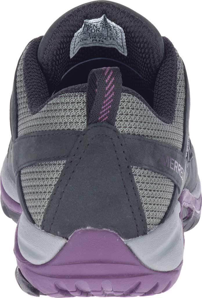 Women's Merrell Siren Sport 3 Trail Shoe, Black/Blackberry Mesh/Leather, large, image 4