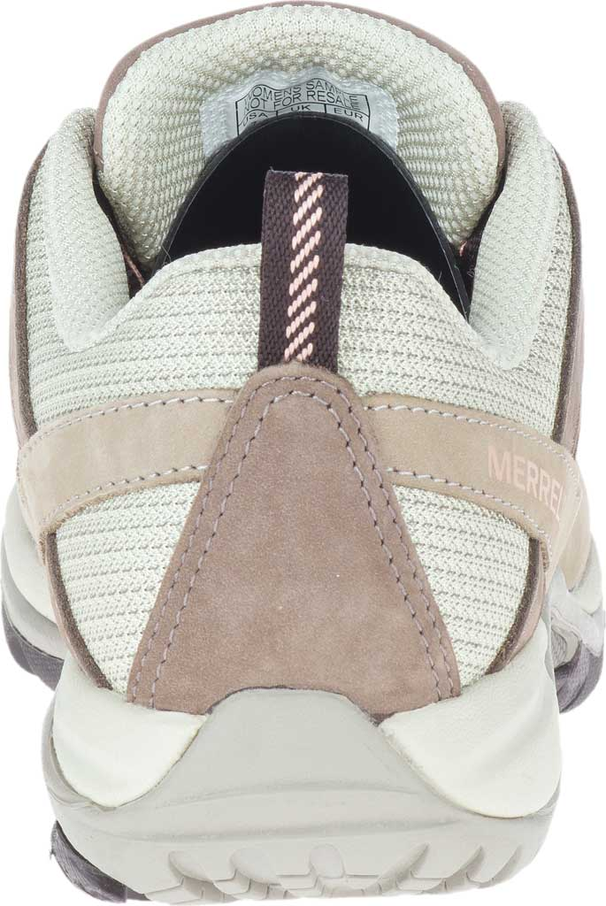 Women's Merrell Siren Sport 3 Trail Shoe, Moonrock/Peach Mesh/Leather, large, image 4