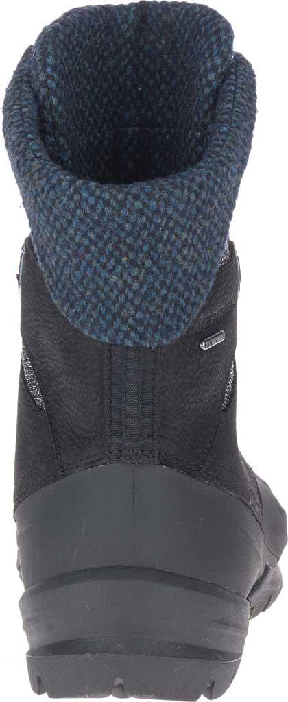 Women's Merrell Thermo Aurora 2 Mid Shell Waterproof Boot, Black Waterproof Full Grain Leather/Wool, large, image 4