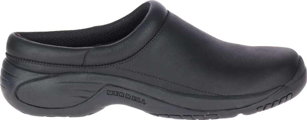 Men's Merrell Encore Gust 2 Slip On, Black Smooth Full Grain Leather/Mesh, large, image 2