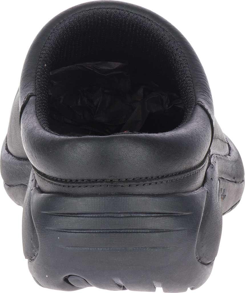 Men's Merrell Encore Gust 2 Slip On, Black Smooth Full Grain Leather/Mesh, large, image 4
