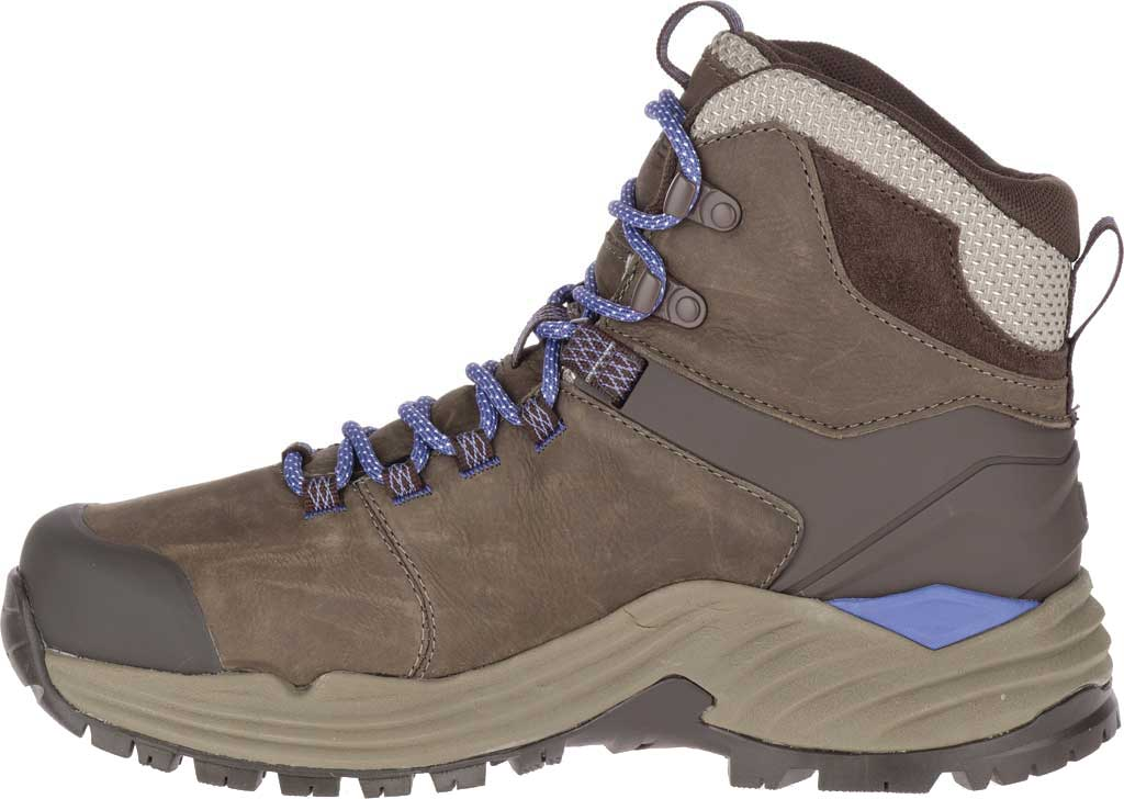 Women's Merrell Phaserbound 2 Tall Waterproof Hiking Boot, Boulder Full Grain Leather, large, image 3