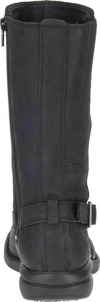 Women's Merrell Andover Peak Waterproof Boot, Black Waterproof Full Grain Leather, large, image 4