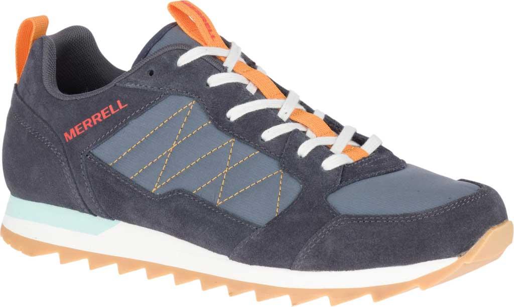Men's Merrell Alpine Sneaker, Ebony Nylon/Leather, large, image 1