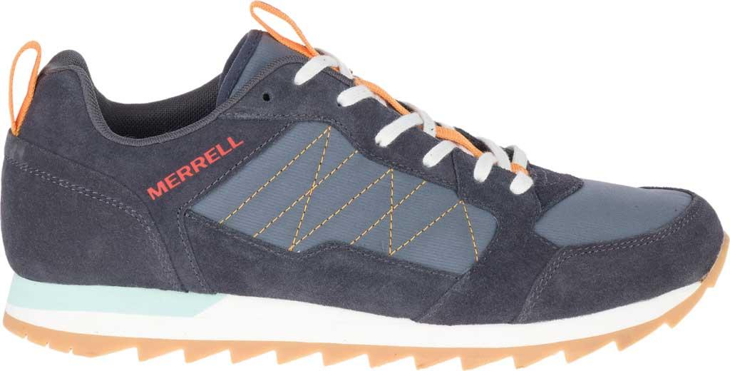 Men's Merrell Alpine Sneaker, Ebony Nylon/Leather, large, image 2