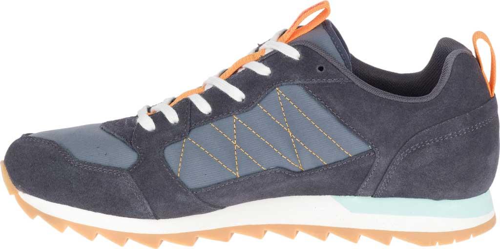 Men's Merrell Alpine Sneaker, Ebony Nylon/Leather, large, image 3
