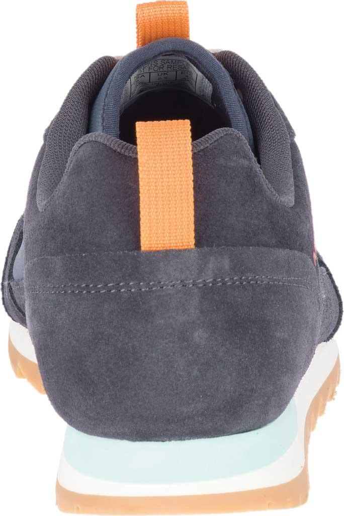 Men's Merrell Alpine Sneaker, Ebony Nylon/Leather, large, image 4
