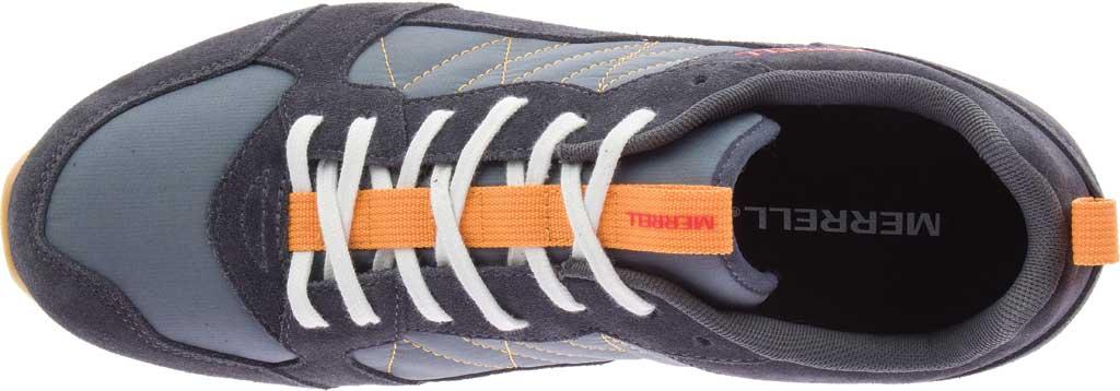 Men's Merrell Alpine Sneaker, Ebony Nylon/Leather, large, image 5