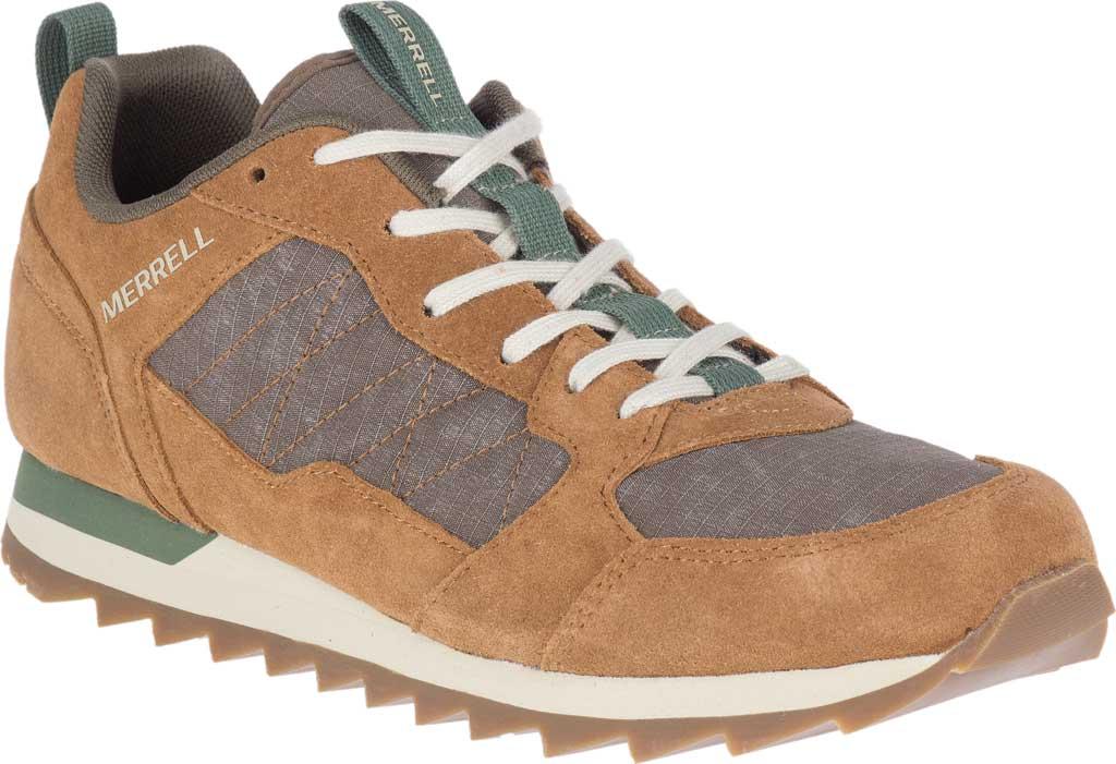 Men's Merrell Alpine Sneaker, Tobacco Nylon/Leather, large, image 1
