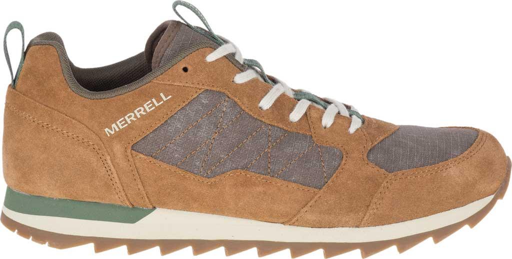 Men's Merrell Alpine Sneaker, Tobacco Nylon/Leather, large, image 2
