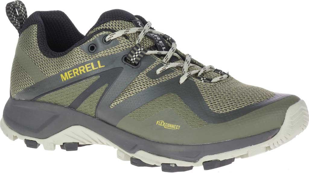 Men's Merrell MQM Flex 2 Trail Running Sneaker, Lichen Mesh/TPU, large, image 1