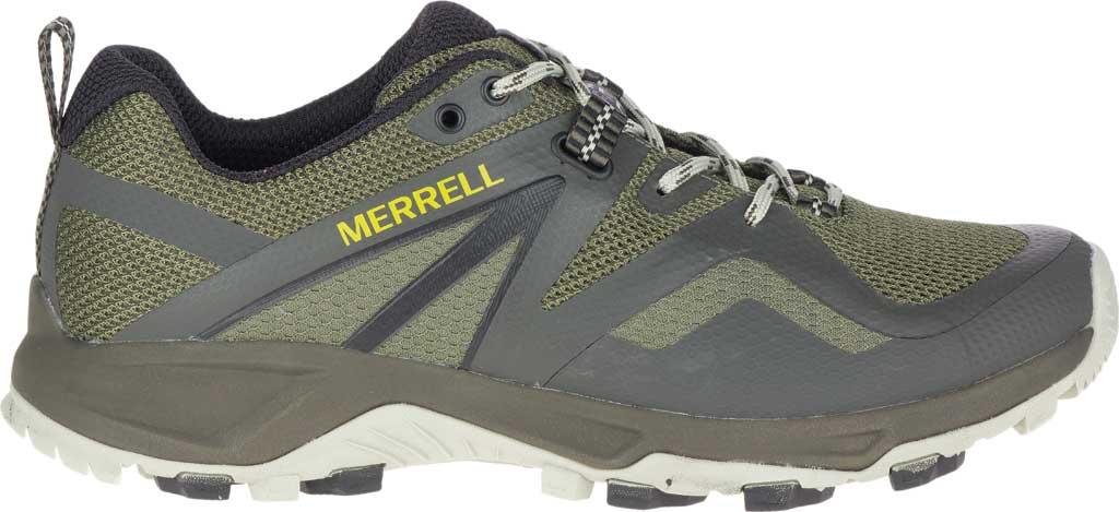 Men's Merrell MQM Flex 2 Trail Running Sneaker, Lichen Mesh/TPU, large, image 2
