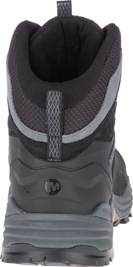 Men's Merrell Phaserbound 2 Tall Waterproof Hiking Boot, Black Full Grain Leather, large, image 4