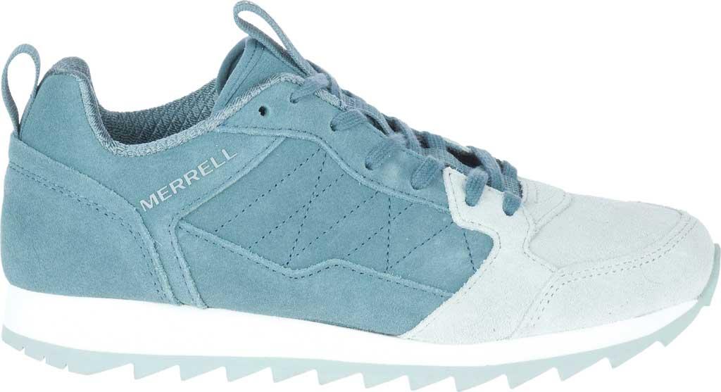 Women's Merrell Alpine Suede Sneaker, Trooper Suede, large, image 2