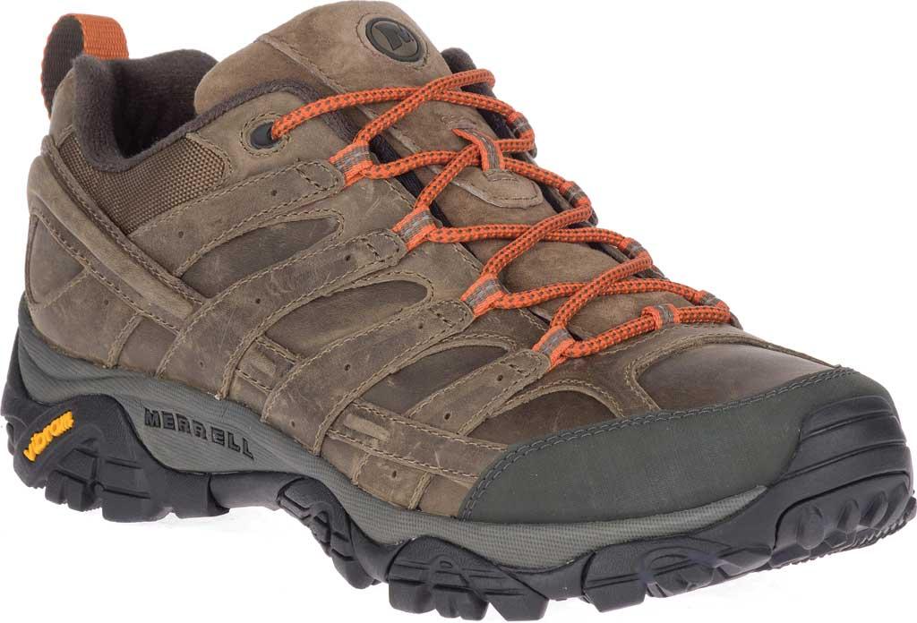 Men's Merrell Moab 2 Prime Hiking Shoe, Canteen Full Grain Leather, large, image 1