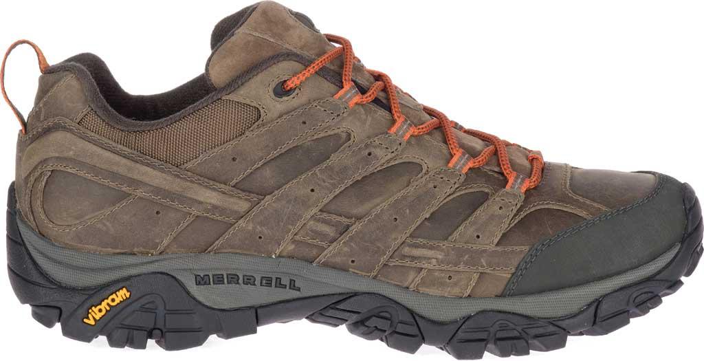 Men's Merrell Moab 2 Prime Hiking Shoe, Canteen Full Grain Leather, large, image 2