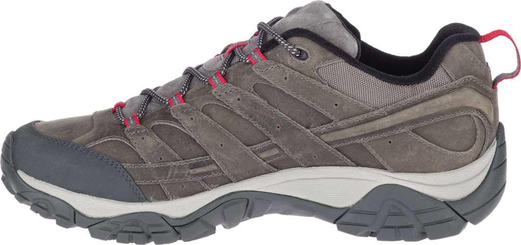 Men's Merrell Moab 2 Prime Hiking Shoe, Charcoal Full Grain Leather, large, image 3