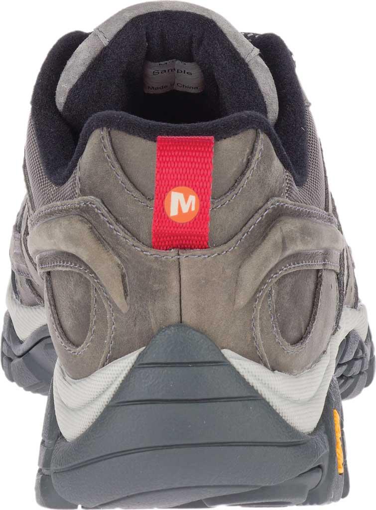 Men's Merrell Moab 2 Prime Hiking Shoe, Charcoal Full Grain Leather, large, image 4