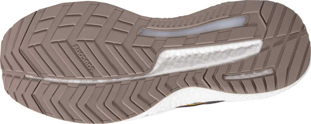 Men's Saucony Hurricane 23 Running Sneaker, Black/Vizigold, large, image 2