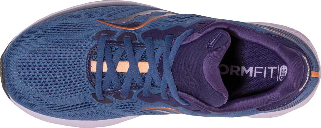 Women's Saucony Ride 14 Running Sneaker, Midnight/Copper, large, image 4